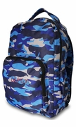 Personalized Camo Blue Backpack | Monogram