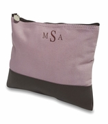 Personalized Canvas Accessory Bag | Lavender or Gold