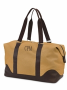 Personalized Canvas Duffle Bag