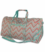 Personalized Chevron Duffel Bag | Monogram