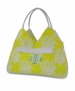 Personalized Coral Reef Beach Tote