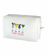 Team Bride - Personalized Cosmetic Tote Bag