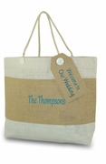 Personalized Custom Tote Bag with Message