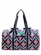 Personalized Duffle Bag for Women - Ikat