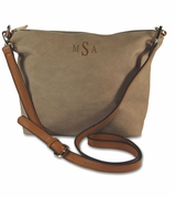 Personalized Faux Leather Cross Body Purse