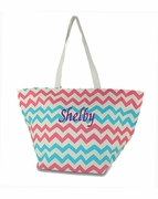 Personalized Girls Beach Tote