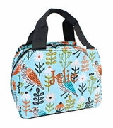 Personalized Lunch Box Bag - Bird Sketch
