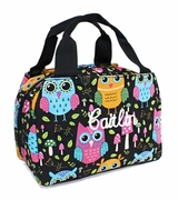 Personalized Owl Lunch Box