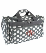 Personalized Polka Dot Duffle