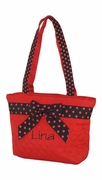 Personalized Quilted Lunch Tote