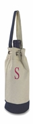 Personalized Single Canvas Wine Bag | Nautical Theme