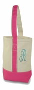 Personalized Two Bottle Wine Tote