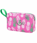 Pineapple Accessory Pouch Monogram