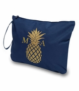Pineapple Accessory Pouch | Monogram