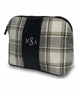Plaid Accessory Pouch | Monogrammed