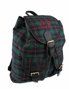 Plaid Campus Backpack | Monogrammed | Personalized