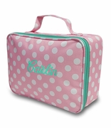 Polka Dot Insulated Lunch Tote | Monogrammed