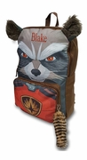 Rocket Raccoon Galaxy Backpack | Personalized