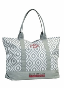 South Carolina Ikat Tote Bag - Monogrammed