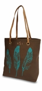Southwest Feather Tote Bag