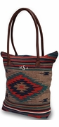 Southwestern Design Tote Bag | Monogram