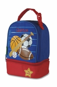 Sports Lunch Bag for Pre-School | Monogram