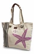 Starfish Summer Carry-all Tote Bag | Personalized