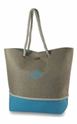Stylish Summer Tote Bag | Personalized - 3 Colors