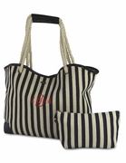 Summer Stripe Tote Bag | Monogram | Personalized