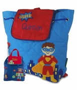 Super Hero or Robot Toddler Backpack | Personalized