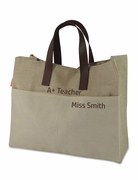 Teachers Tote Bag | Embroidered