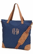 Trendy Oversized Messenger Bag | Monogram