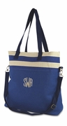 Trendy Oversized Messsenger Bag | Monogram