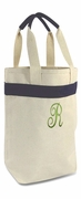 Two Bottle Canvas Wine Bottle | Monogram