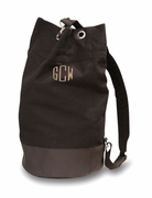 Unisex Monogram Sling Shoulder Duffel Bag