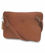 Vegan Leather Laptop Bag | Monogram
