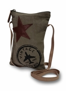 Vintage Air-mail Crossbody Bag