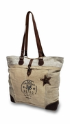 Vintage Retro Canvas Tote Bag