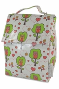 Vinyl Owl Lunch Bag - Spider-Bugs