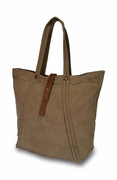 Woman's Canvas City Tote Bag | Monogram