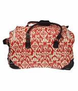 Woman's Travel Bag - Rolling Duffle