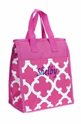 Women's Lunch Bag Insulated  |Monogram | 6 Colors