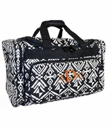 Women's Weekend Tote - Aztec Pattern