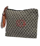 Woven Tapestry Accessory Bag | Monogram