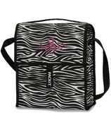 Zebra Print Cooler Bag