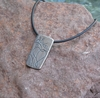 Always Heart Pewter Necklace