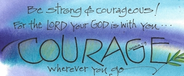 Courage Bookmark