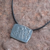 Fern Pewter Necklace