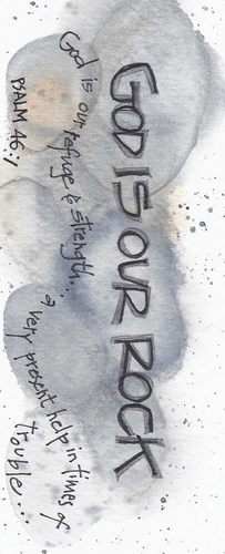 God is our Rock Bookmark
