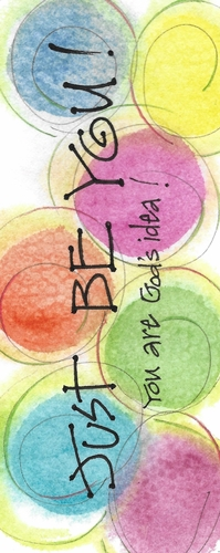 Just Be YOU Bookmark